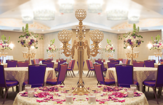 Banquet Hall Setup for party