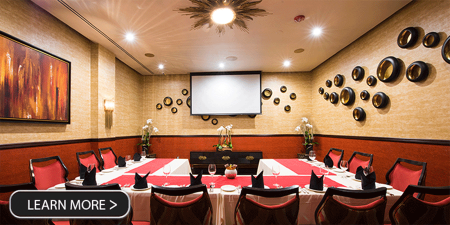 Spice Affair Private Dining room